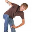 Breakdancing position — Stock Photo