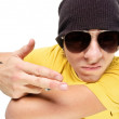 Young guy in sunglasses . — Stock Photo #1452295