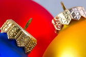 Colorful christmas balls i — Stock Photo