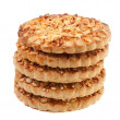 Stock Photo: Cookies with nut crumb.