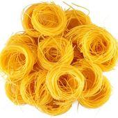 Italian pasta as background. — Stock Photo