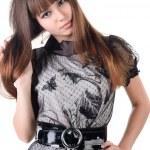 Beautiful woman in sexual dress — Stock Photo #2009714
