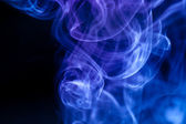 Abstract blue smoke — Stock Photo