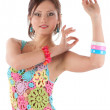 Young womdancing — Stock Photo #2014064