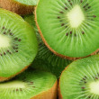 Food Kiwi Fruit slices — Stock Photo