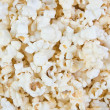 Big heap of salty popcorn. — Stock Photo