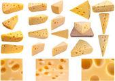 Duże strony kolekcja ser — Zdjęcie stockowe