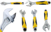 Large page of adjustable spanner. — Stock Photo