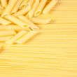 Royalty-Free Stock Photo: Macaroni on long spaghetti.