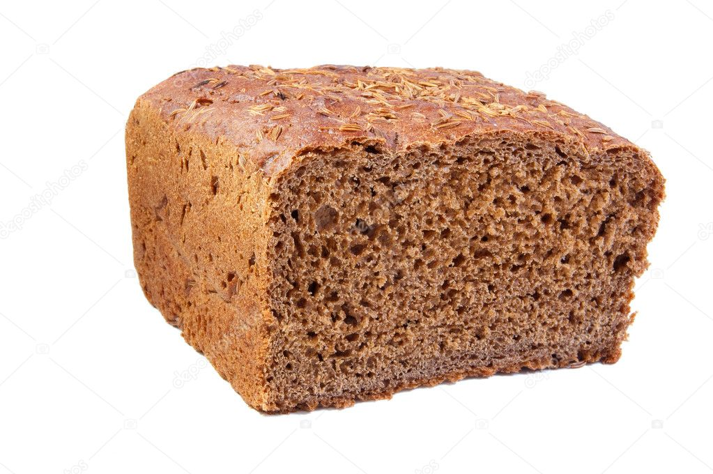 Rye bread with caraway seed — Stock Photo © ghoststone #2297582