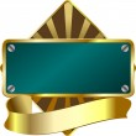 Award emblem — Stock Vector