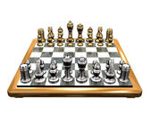 Royal chess v.1 — Stock Photo