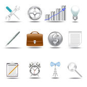 3D icons v.1 — Stock Vector