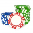 Stock Photo: Gambling chip