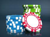 Gambling chip — Stock Photo