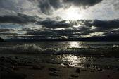 The shore of Baikal — Stock Photo