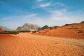 Desert in Wadi Rum — Stock Photo