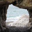 Sea from cave — Stock Photo #2673068
