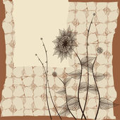 Vintage background — Stok Vektör