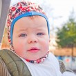 Modern lifestyle - Cute baby boy — Foto Stock