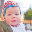 Modern lifestyle - Cute baby boy — Foto de Stock