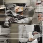 全球通信的概念 — 图库照片