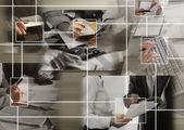 Begreppet global kommunikation — Stockfoto