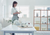 Interior woman's Lifestyles — Foto de Stock