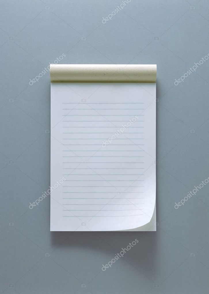 Paper notes and books — Stock Photo #1452770