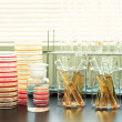 Stock Photo: Experiment and research Lab goods