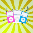 music mp3 — Stock Photo