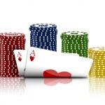 Poker game — Stock Photo #1456959