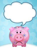Pig moneybox — Stock Photo
