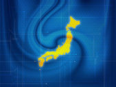 Map techno — Stock Photo