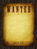 Wanted — Stock Photo