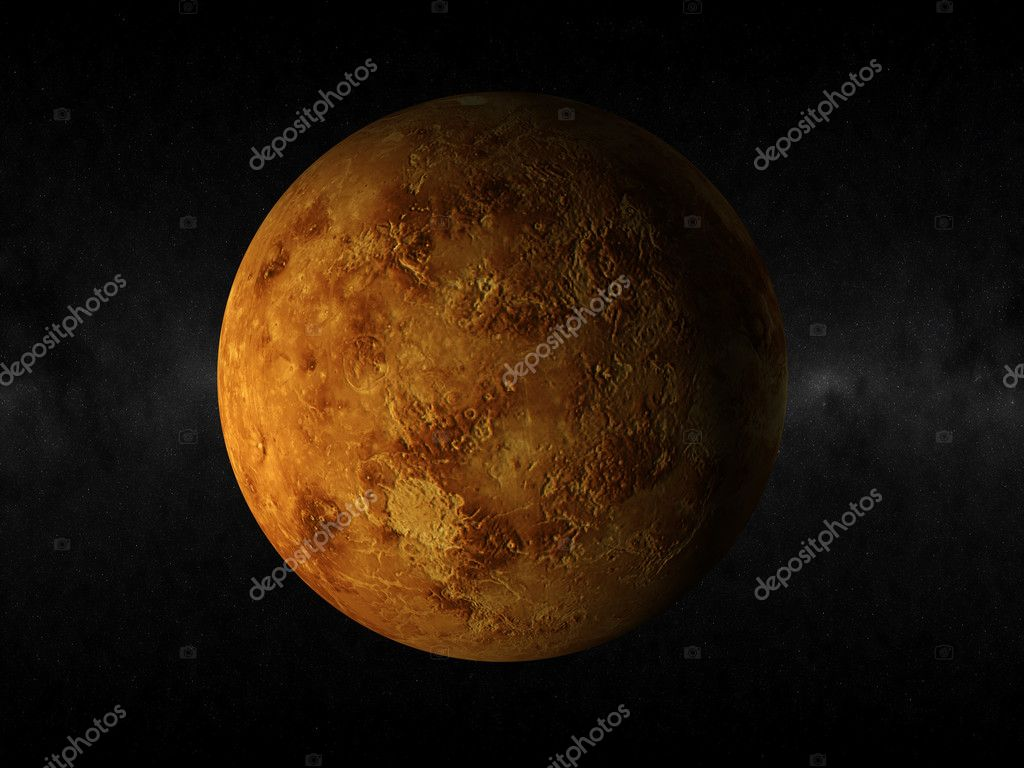 3d rendering of the planet venus — Stock Photo #1453840