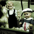Stock Photo: Old toys