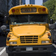 Manhattan school bus — Stock Photo