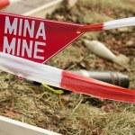 Danger mine — Stock Photo