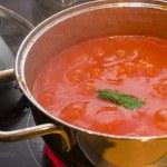 Tomato sauce — Stock Photo #1464489