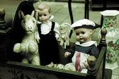 Old toys — Stock Photo