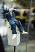 Statuette design — Stock Photo