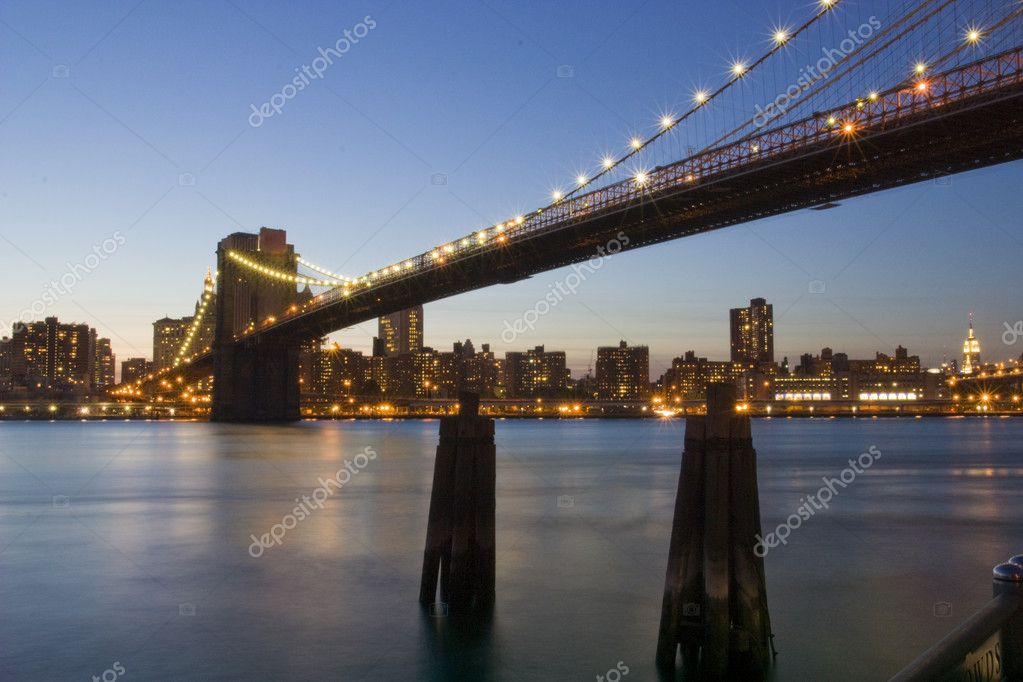 A panoramic view of Manhattan new york — Stock Photo #1463443