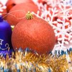 Colorful christmas decoration — Stock Photo