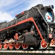 steam locomotive&quot — Stock Photo #1452181