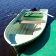 Boat on a river — Stock Photo