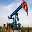 Oil pump jack — Stock Photo #1452265
