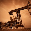 Oil pump jack — Stock Photo #1452654