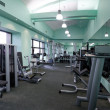 Stock Photo: Gym equipment room