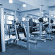 Gym equipment room — Stock Photo #1453157